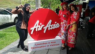 MAJLIS PELANCARAN LALUAN TERBAHARU AIR ASIA
