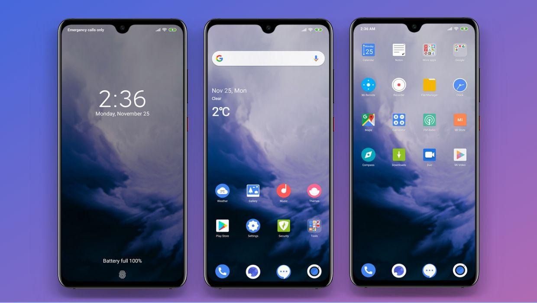 Oxygen Os 9 MIUI Theme | OnePlus Theme for MIUI 11