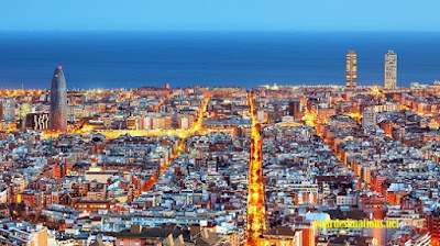 Barcelona Aerial