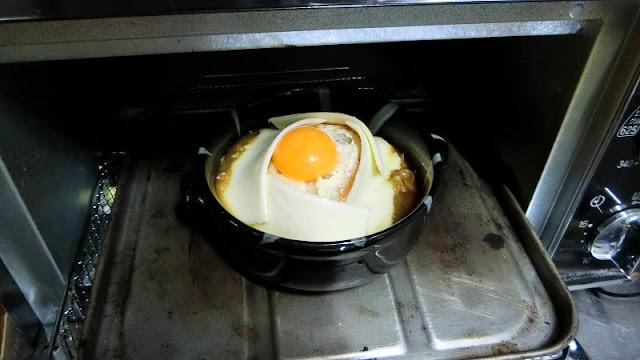 オーブントースターでこんがり焼いたら完成。