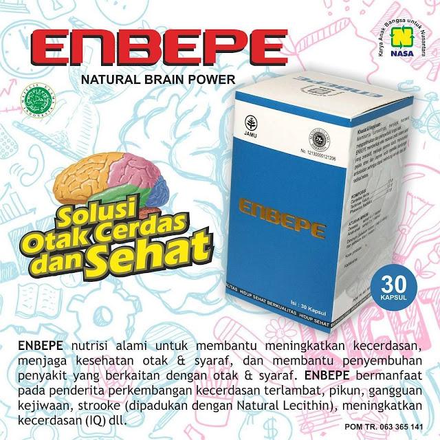ENBEPE - Natural Brain Power | Nutrisi Herbal Untuk Kesehatan Otak dan Kecerdasan