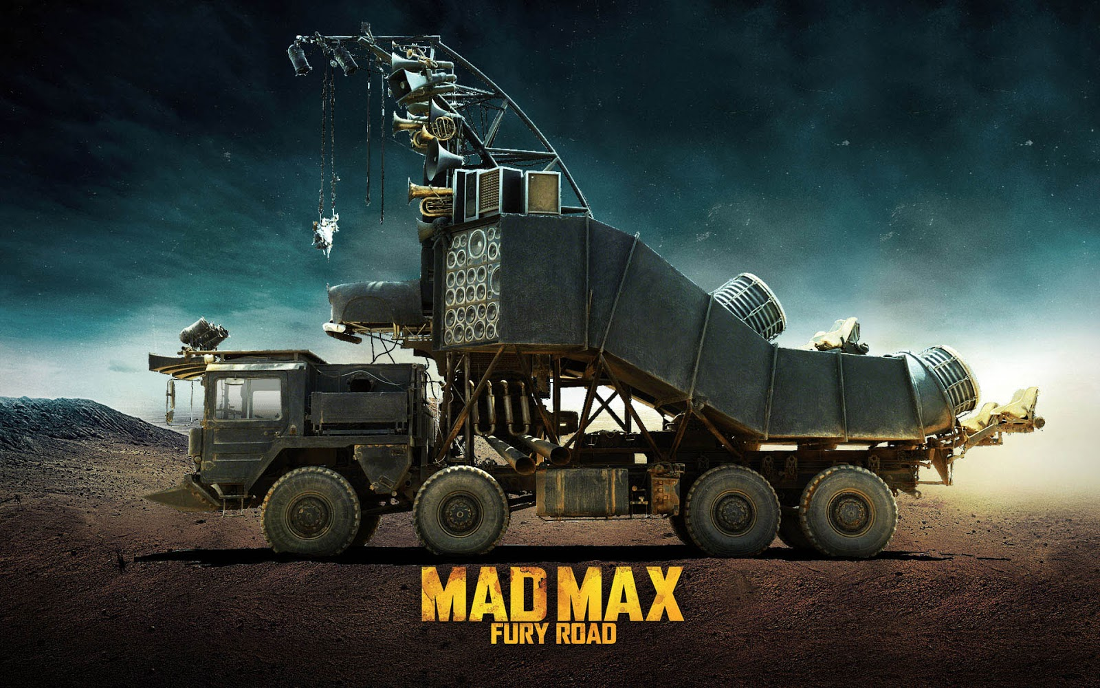 doof wagon mad max fury road wallpaper