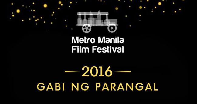 COMPLETE LIST: Winners, MMFF 2016 awards night