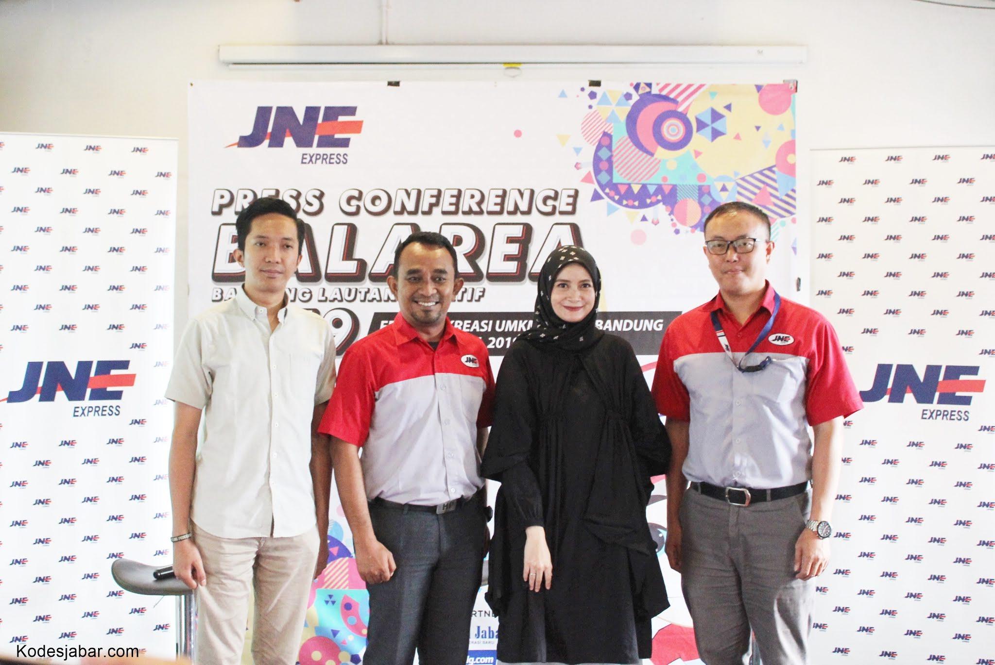 JNE UKM Festival Balarea 2019, Mendorong UKM Ciptakan Peluang Usaha di Era 4.0