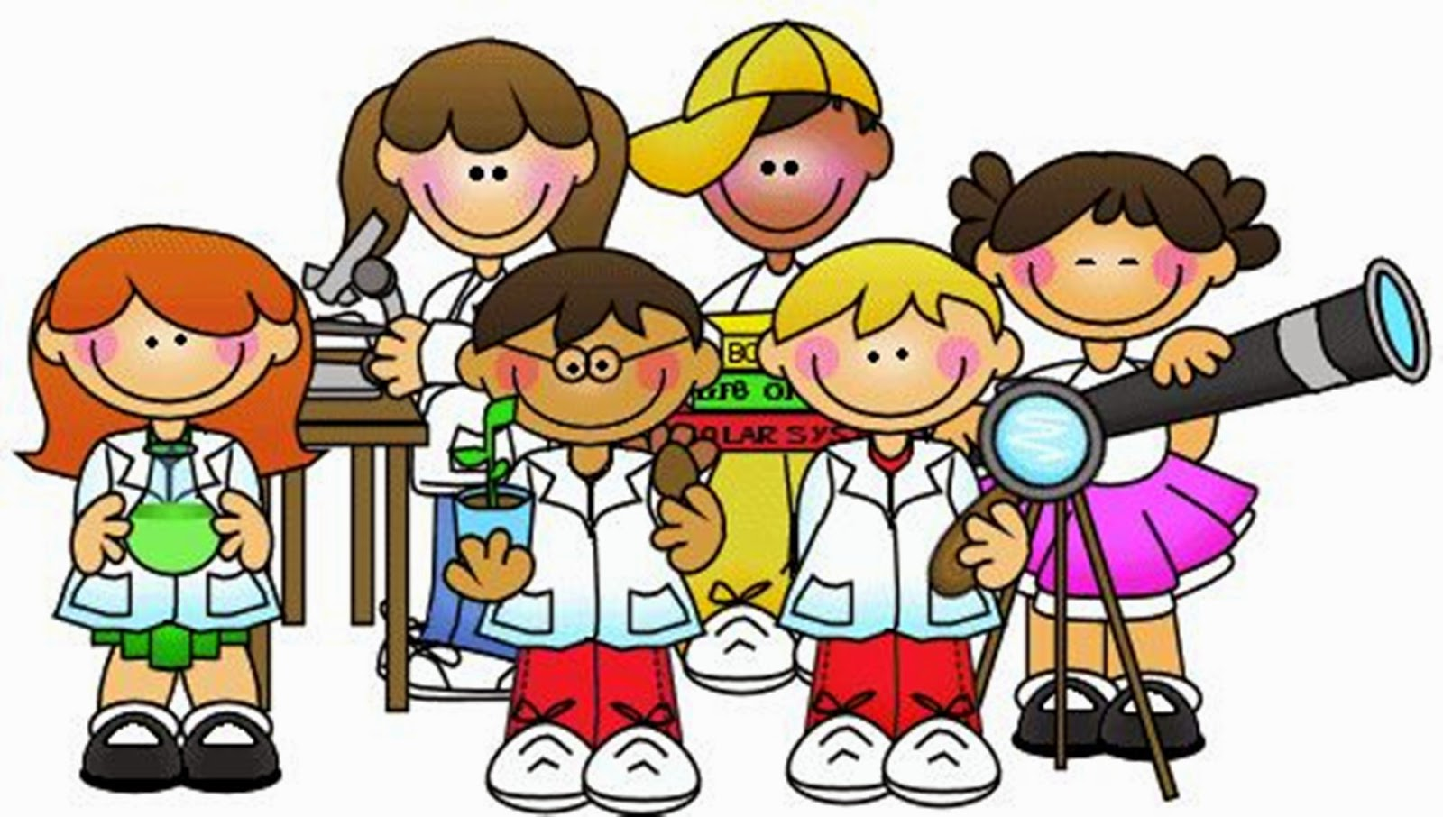 science fun experiment kid learn clipart clip scientist children game ciencias ciencia para imagenes preescolar dibujos primaria experiments lab experimentos