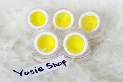 Crystal Arbutin Jelly Yellow Produk Masker Wajah, Perawatan Muka Aman