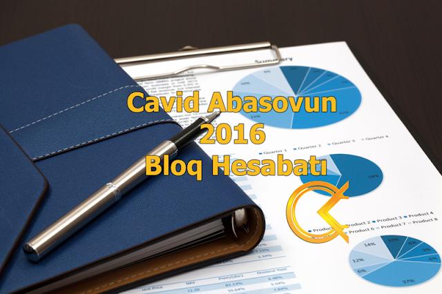 Cavid Abasovun 2016 Bloq Hesabatı
