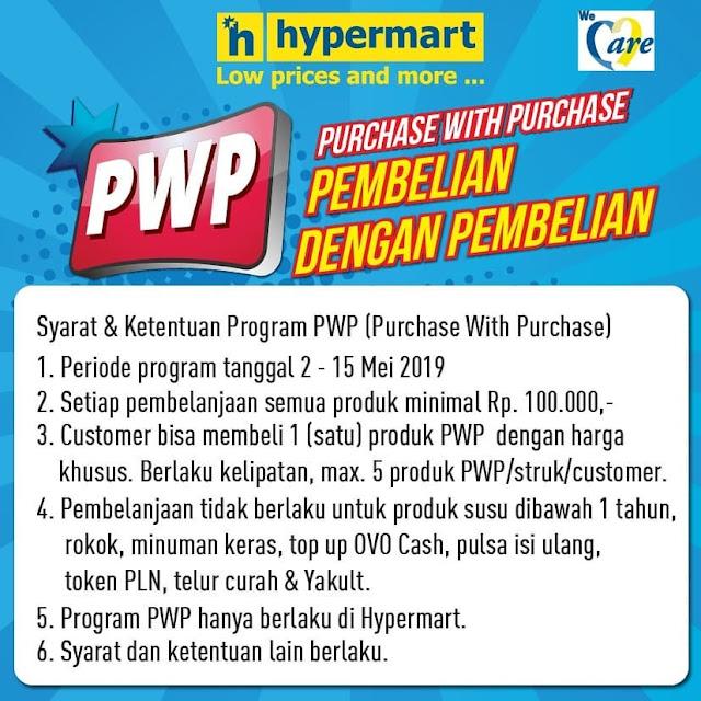 #Hypermart - #Promo #Katalog PWP 2 Minggu Periode 02 - 15 Mei 2019