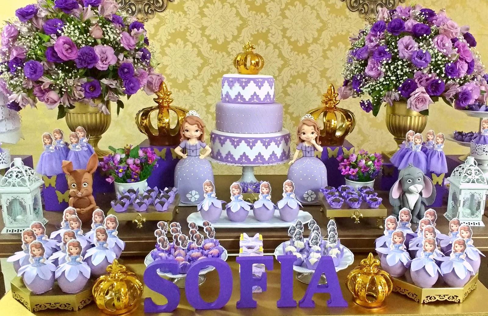 Império Decorações Decoraç u00e3o da Princesa Sofia em Sorocaba -> Decoração De Aniversário Princesa Sofia