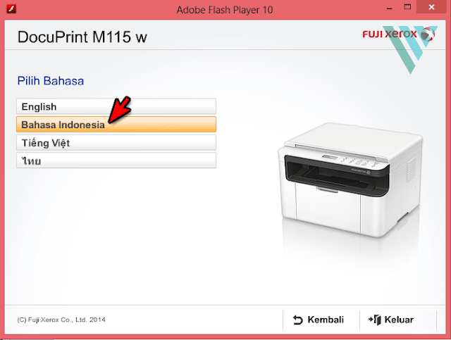 Cara Setting WiFi Printer Fuji Xerox M115w/P115w