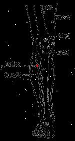 膽囊穴位 | 膽囊穴痛位置 - 穴道按摩經絡圖解 | Source:zhongyibaike.com