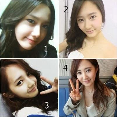 Girls' Generation Look-A-Like: YoonA, Yoo Ara, Yuri, Krystal Krystal Jung And Yoona Look Alike