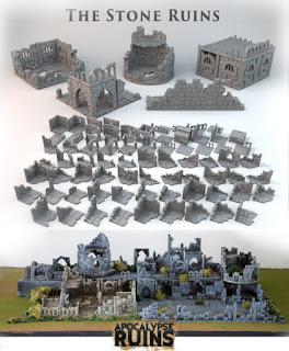 The Miniatures Man: Kickstarter Watch – Apocalypse Ruins, 3D