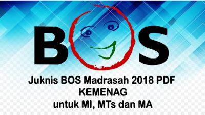 Juknis BOS Madrasah 2018 PDF