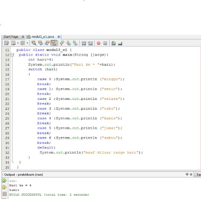 Membuat Program BMI di Java Dengan IDE NetBeans