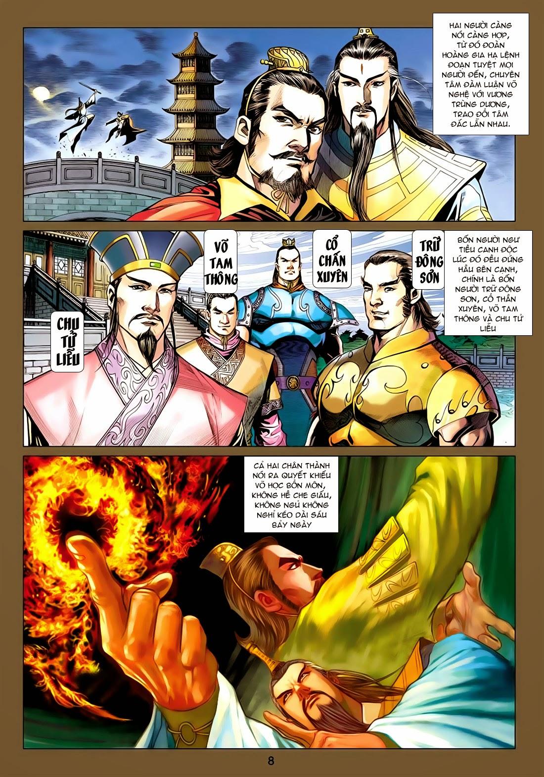 Anh Hùng Xạ Điêu anh hùng xạ đêu chap 77: thế thượng tối cường võ công trang 8