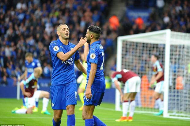 Leicester : Mahrez évoque sa relation avec Slimani