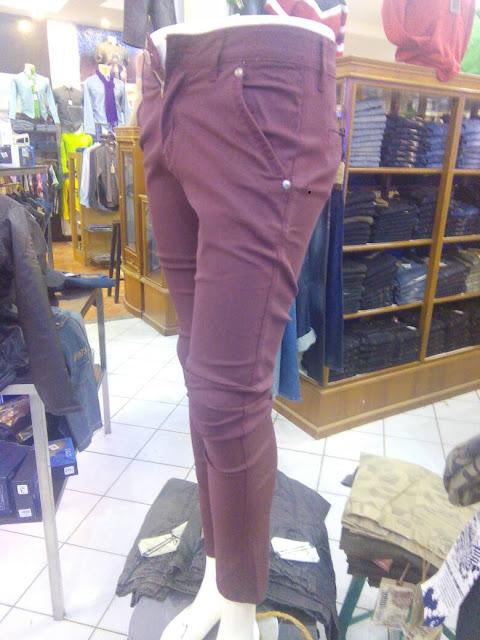 Celana GUESS Chino Warna merah Maron khas Distro