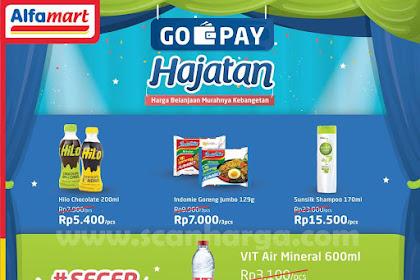 Promo Alfamart Bayar Pakai GoPay Hajatan 1 - 15 Juni 2019