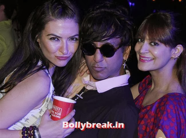 Rehan Shah With Candy Brar, Page 3 Babes at Sunburn Arena DJ AVICII Concert