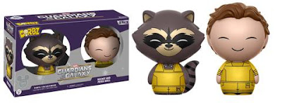 D23 Expo 2017 Marvel Guardians of the Galaxy Rocket Raccoon & Peter Quill Dorbz 2 Pack