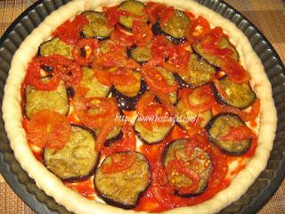 начинка для пиццы с баклажанами