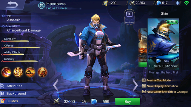 build item hayabusa