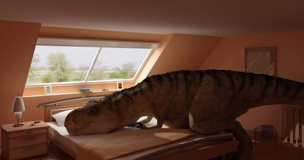 Dinosaures et Volcans Chambre denfant Dinosaure