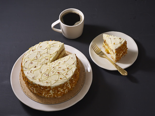 Starbucks mango cake
