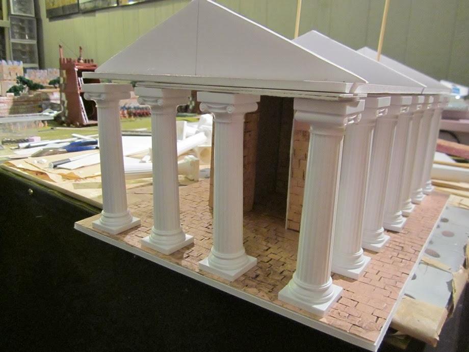 Tides Of War Paint Bench Building A Set Of 28mm Greek