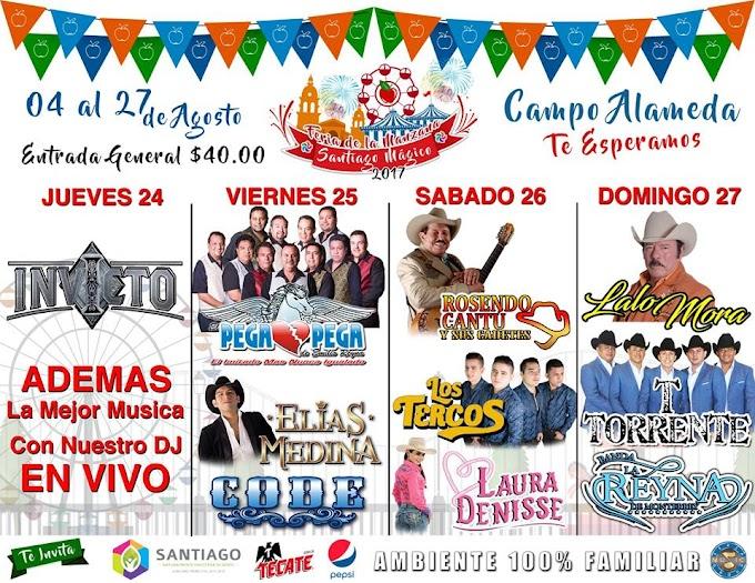 Feria de la Manzana Santiago Mágico 2018