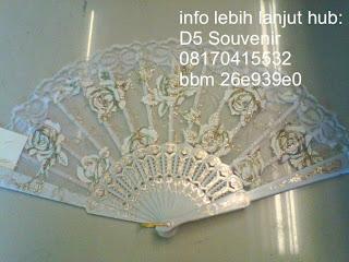 souvenir kipas, souvenir kipas transparan motif,  Souvenir Pernikahan, souvenir unik dan souvenir khas jogja