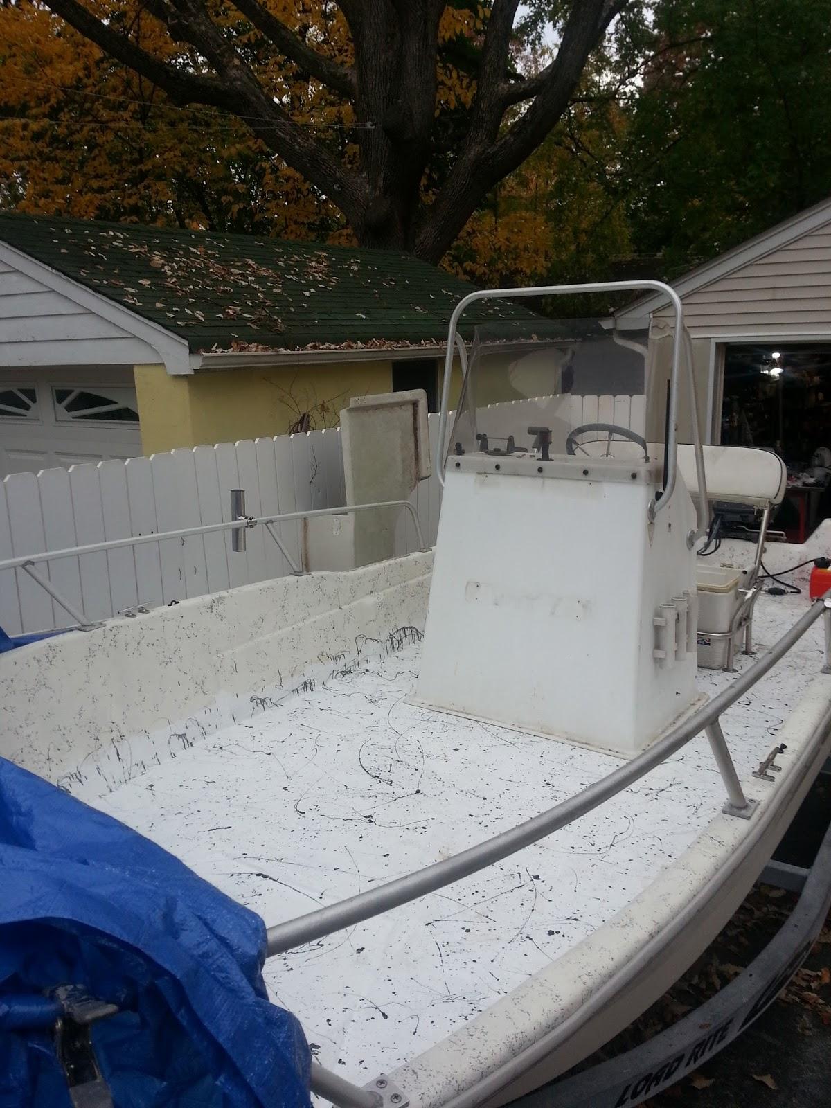 Repairing A Deck On A Fiberglass Boat Seagull Nautico 18