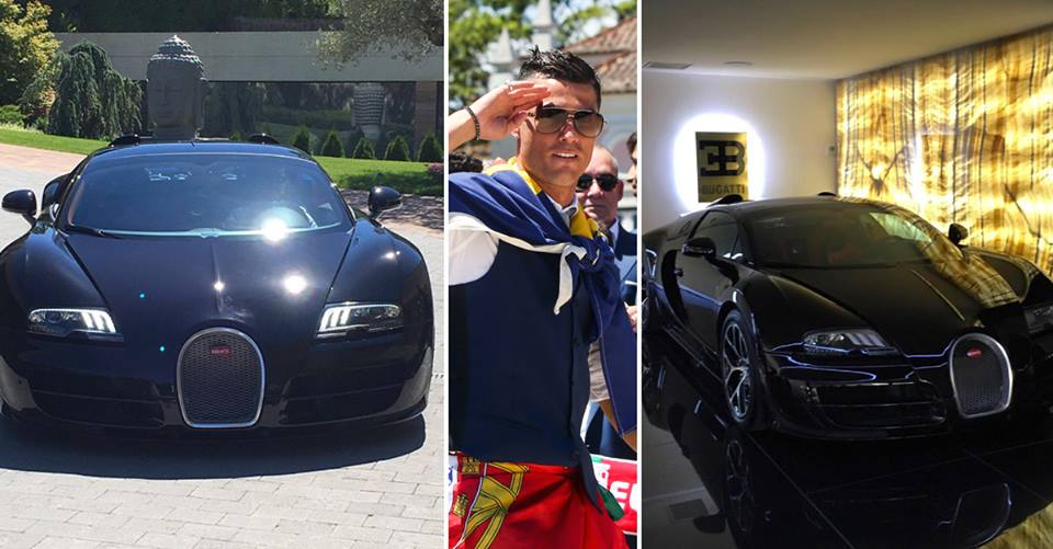 cristiano ronaldo unveils his new 39 animal 39 on instagram see photos. Black Bedroom Furniture Sets. Home Design Ideas