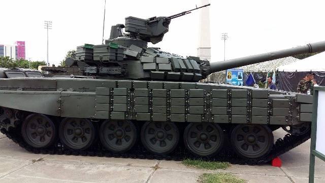 nicaragua - Nicaragua busca comprar los T-72.  - Página 2 Efefefef