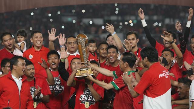 Jebol Bali United 3-0, Persija Jakarta Juara Piala Presiden 2018