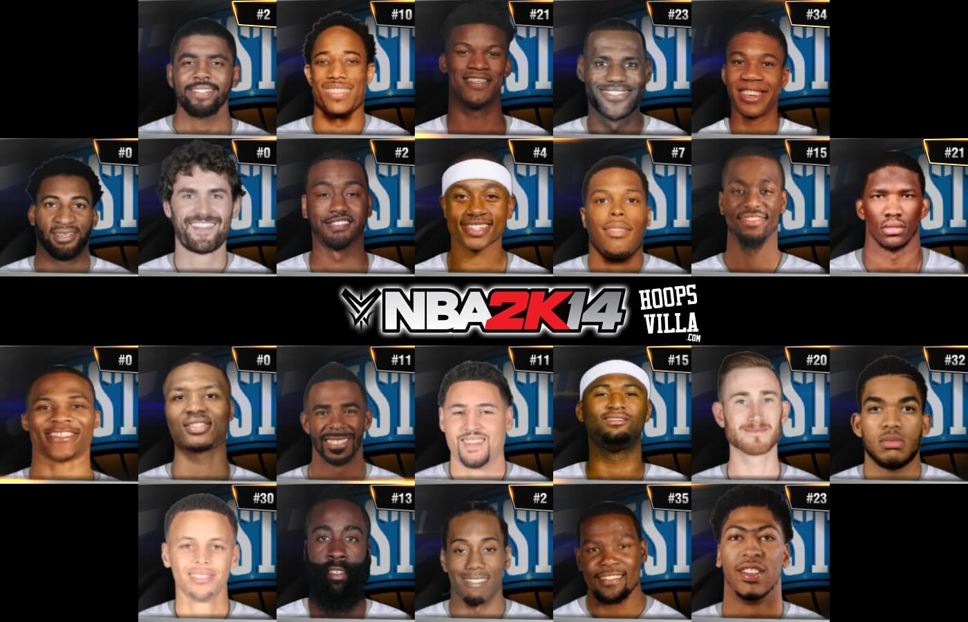 de75c71bb25c NBA 2k14 Ultimate Roster Update v8.4   January 21st