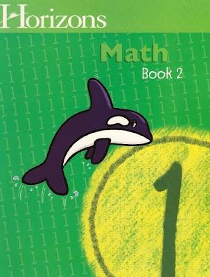 Horizons math, part of homeschool curriculum review