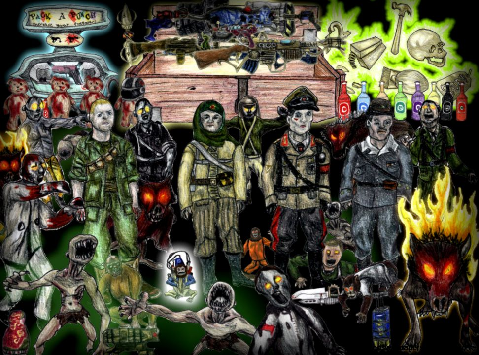 Call Of Duty Zombies Wallpaper Free Hd Wallpapers