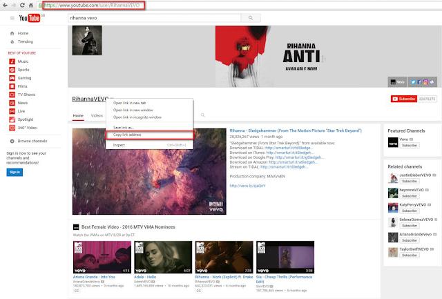 كيفية تحميل سلسلة فيديوهات أو قناة بأكملها من يوتيوب