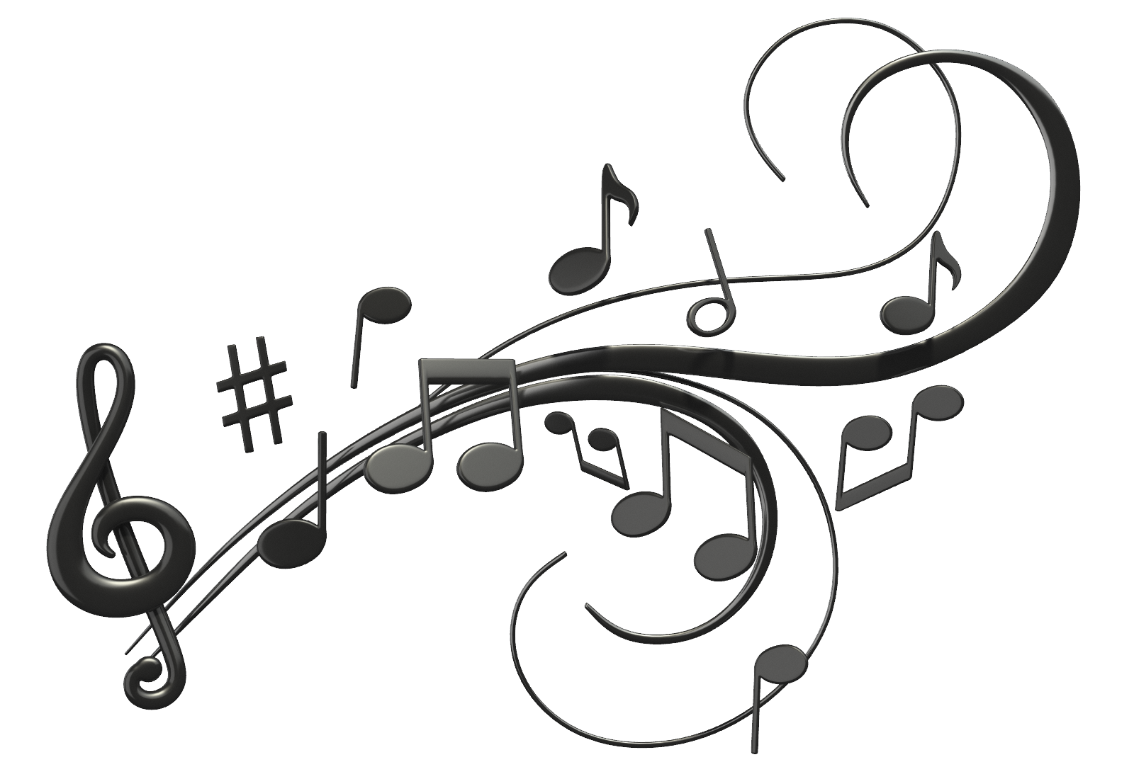 Png Hd Musical Notes Symbols Transparent Hd Musical Notes: Zach The Cat