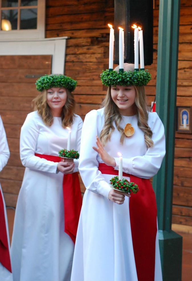 Finlands Lucia 2016 Ingrid Holm - Kajsa Snickars