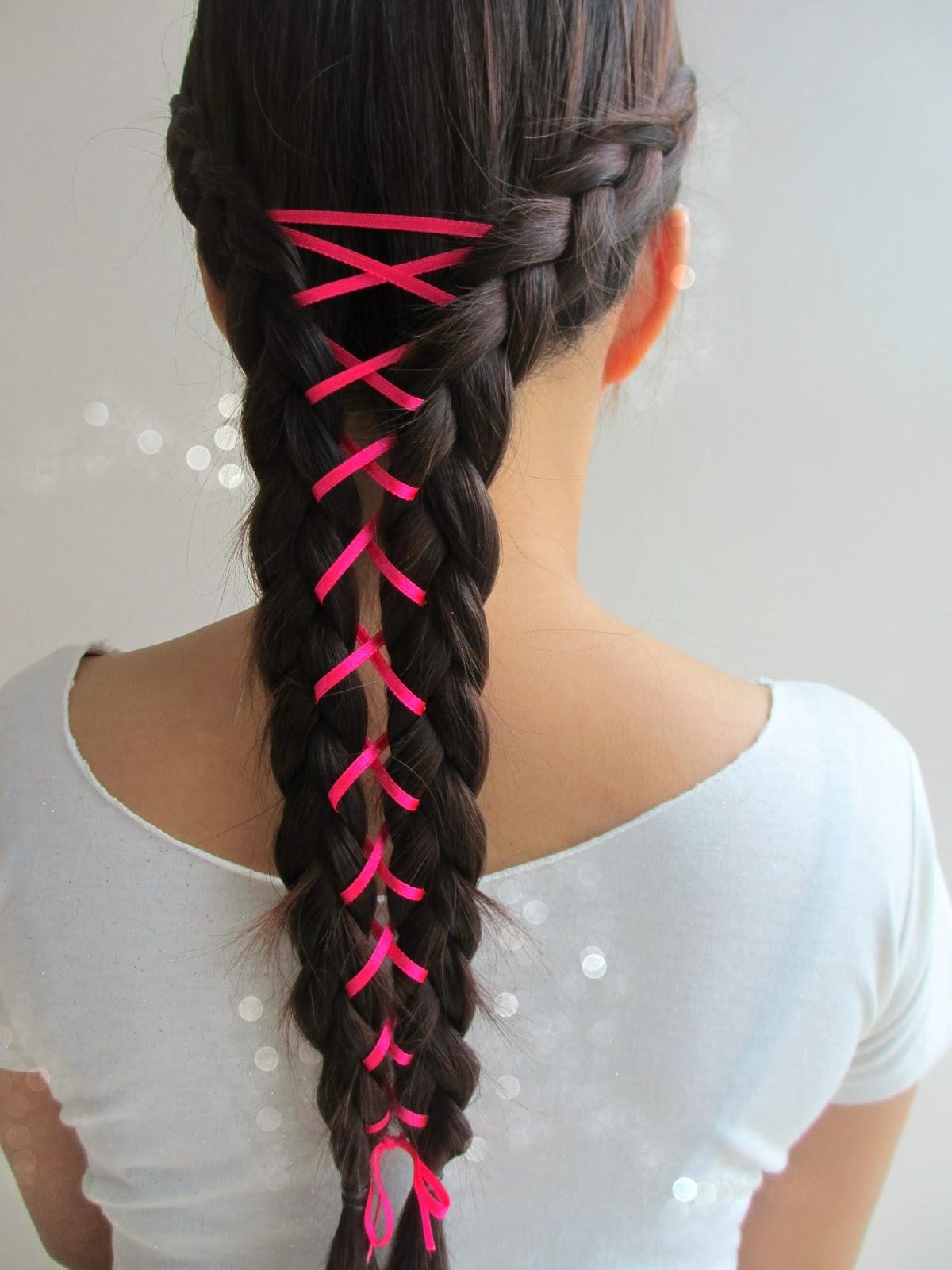 Real Asian Beauty Corset Braid Hair Tutorial