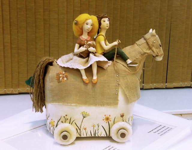 """Выставка авторской куклы в Самаре """"Куклы. Эмоции. Чувства."""", Надежда Озерова (Самара) """"Путь, длиною в жизнь"""""""