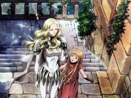 Teresa-e-Clare-anime-Claymore