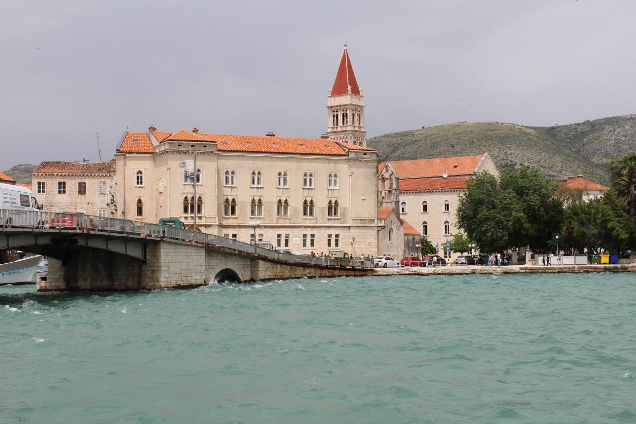 Bridge at Trogir in Croatia