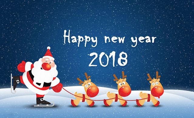 free new year greeting cards, new year 2018 greetings