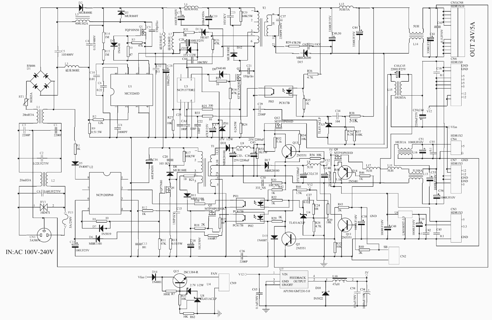 samsung led circuit diagram