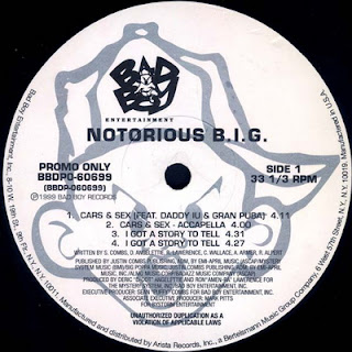 The Notorious B.I.G. – Cars & Sex / I Got A Story To Tell / Biggie Smalls Is The Wickedest / The Garden Freestyle (1999) [Vinyl] [FLAC] [24-96] [Bad Boy]