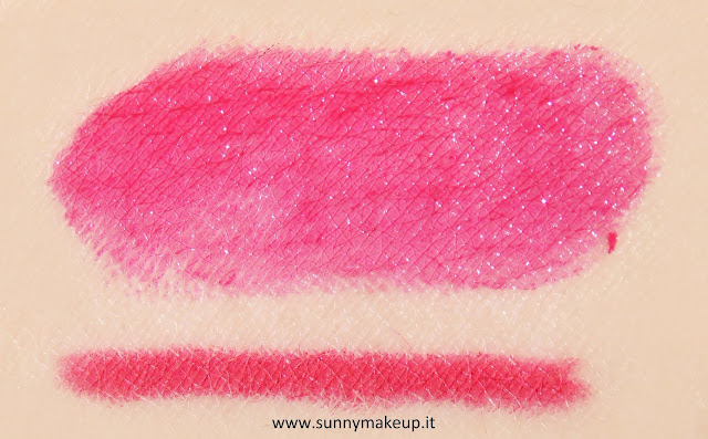 swatch Pupa - Kit Miss Pupa. 305 – Miss Pupa Sweet Plum + True Lips 32.